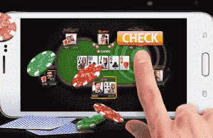 Bermain poker secara online di android